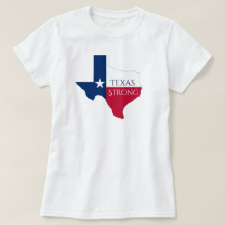 Camisa forte da bandeira T do estado de Harvey