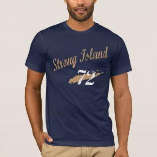 Camisa forte do bege da ilha