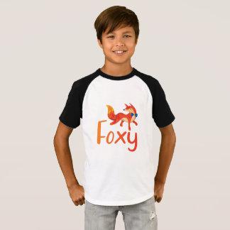 Camisa Foxy à moda com Fox ilustrado
