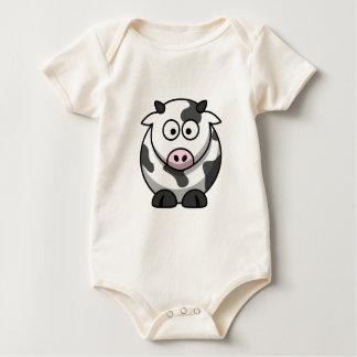 Camisa frente e verso da vaca bonito