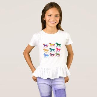 Camisa Funky das meninas de Colts