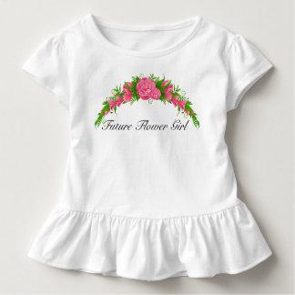 Camisa futura adorável do florista