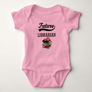 Camisa futura de Childs do bibliotecário