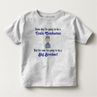 Camisa futura do big brother do condutor de trem camiseta