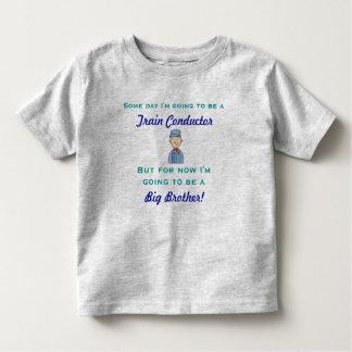 Camisa futura do big brother do condutor de trem t-shirt