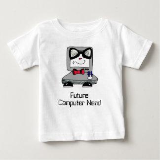 Camisa futura do geek do nerd do computador para