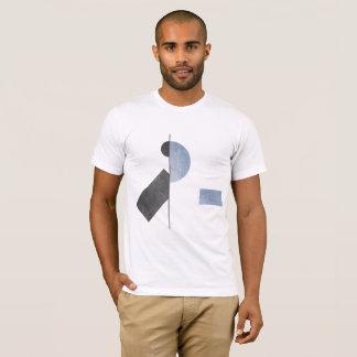 Camisa geométrica minimalista