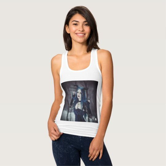 camisa gótica feminina