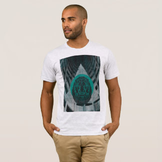 Camisa gráfica industrial de LionsMane
