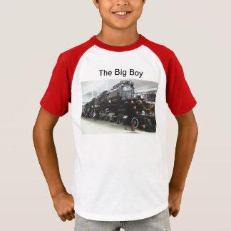 Camisa grande do menino T dos miúdos