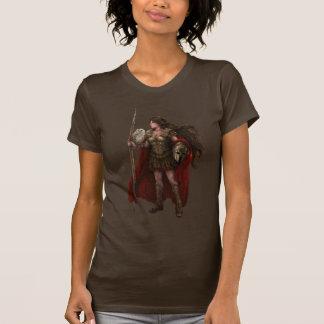 Camisa grega da arte de Athena da deusa