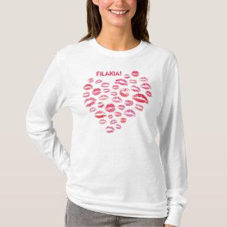 Camisa grega de Filakia (beijos)