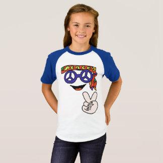 Camisa Groovy da paz do hippy