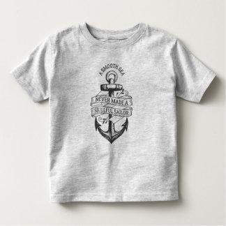 Camisa hábil do marinheiro   do mar liso inspirado