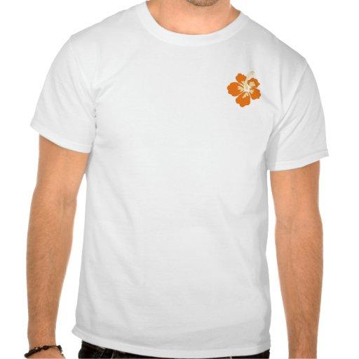 Camisa havaiana do estilo t-shirt