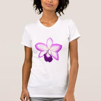 Camisa havaiana exótica da orquídea T de Cattleya Tshirts
