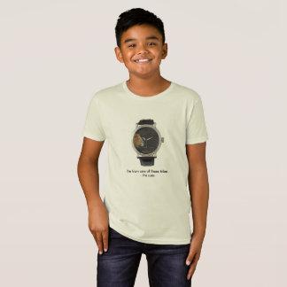 Camisa hebréia do relógio dos tribos das crianças