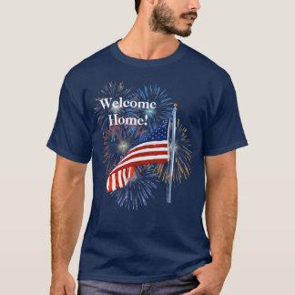 Camisa Home bem-vinda das tropas