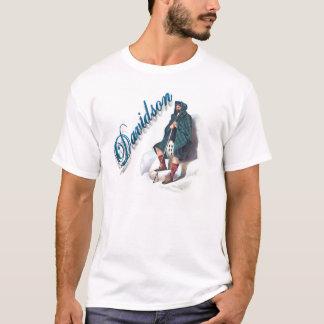 Camisa ideal escocesa de Davidson do clã