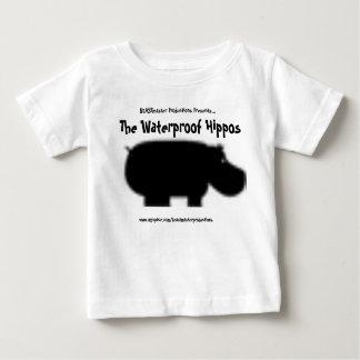 Camisa impermeável oficial da criança dos camisetas