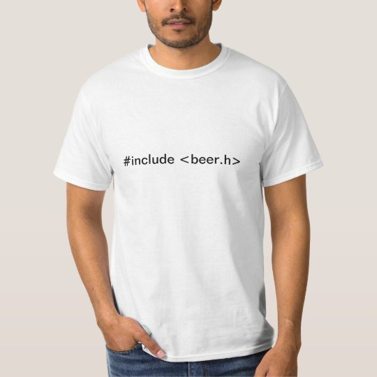Camisa #include <beer.h>