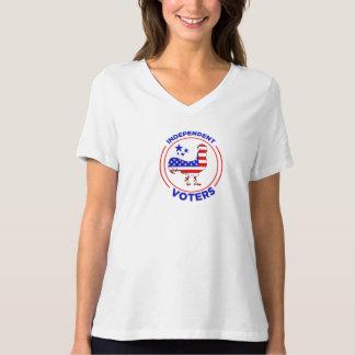Camisa independente dos eleitores