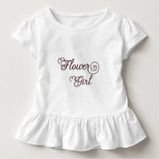 Camisa indicada por letras do florista T do
