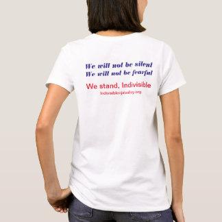 Camisa indivisível do T das mulheres do vale de