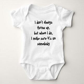 Camisa infantil engraçada