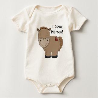 Camisa infantil Horsey