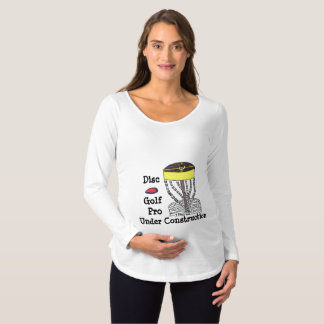 Camisa inferior da maternidade da construção do