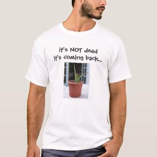camisa inoperante da planta