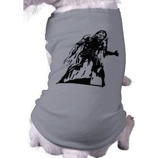 Camisa inoperante viva do animal de estimação do camiseta