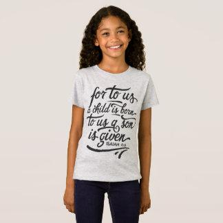 Camisa inspirada do jérsei do verso | da bíblia do