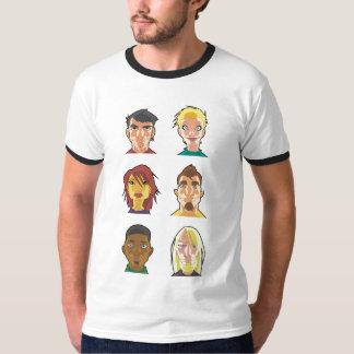 Camisa inteira do molde de TWWM Camiseta