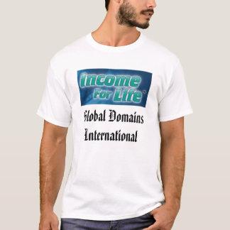 Camisa internacional dos domínios globais T T-shirt