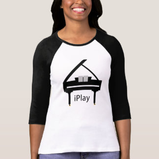 camisa iPlay do piano de cauda