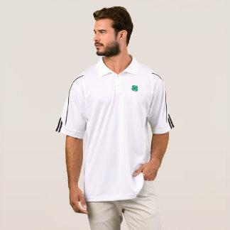 Camisa irlandesa afortunada de ClimaLite® do golfe