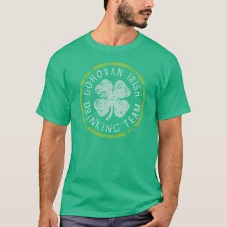 Camisa irlandesa da equipe t do bebendo de Donovan