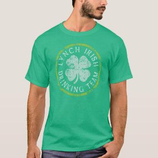 Camisa irlandesa da equipe t do bebendo de Lynch