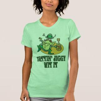 Camisa irlandesa do gabarito