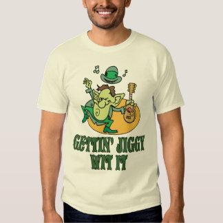Camisa irlandesa do gabarito T Tshirts