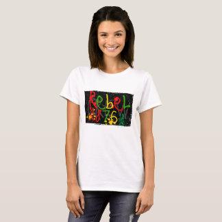 Camisa jamaicana legal, hippie de T, meditação