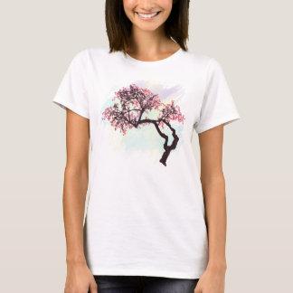 Camisa japonesa da flor T da árvore de cereja