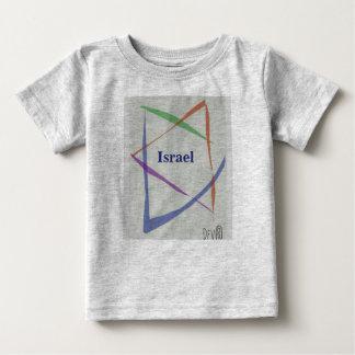 Camisa judaica do bebê T do design