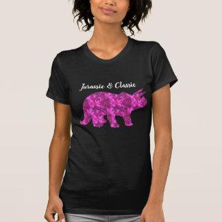 Camisa jurássico das meninas do dinossauro