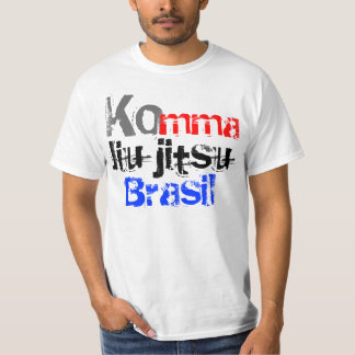 camisa komma jiu-jitsu t-shirts