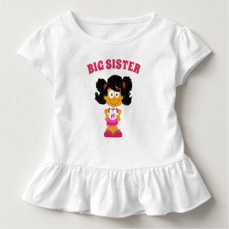 Camisa latino-americano da menina do