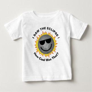 Camisa legal do eclipse do bebê