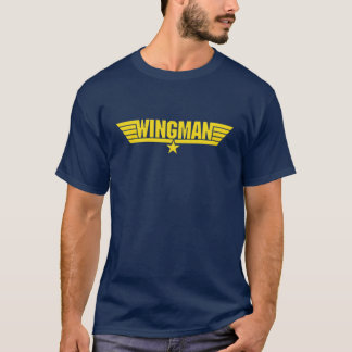 camisa legal do esque da força aérea do wingman